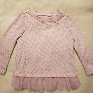 Adorable toddler girls sweatshirt